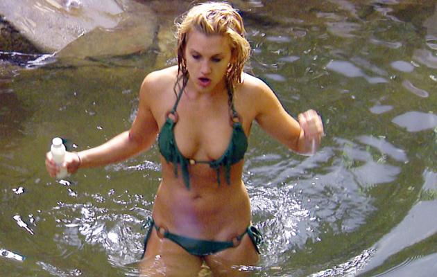 Ashley-Roberts-Shower