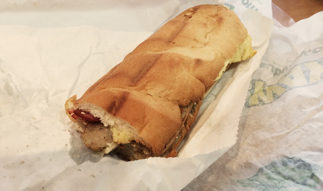 Subway-mega-melt-breakfast